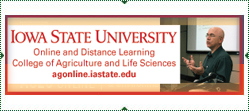 Iowa State University College of Agriculture and Life Sciences Online Graduate Programs. www.agonline.iastate.edu
