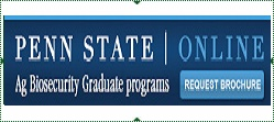 Penn State Online Agricultural biosecurity and food defense graduate programs