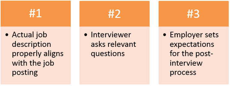 Influential Factors: Creating a Positive Interview Experience